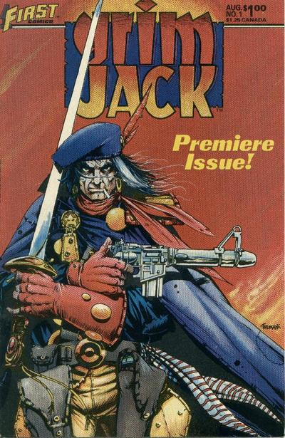 Classic Comic Covers - Page 3 Grimjack-1