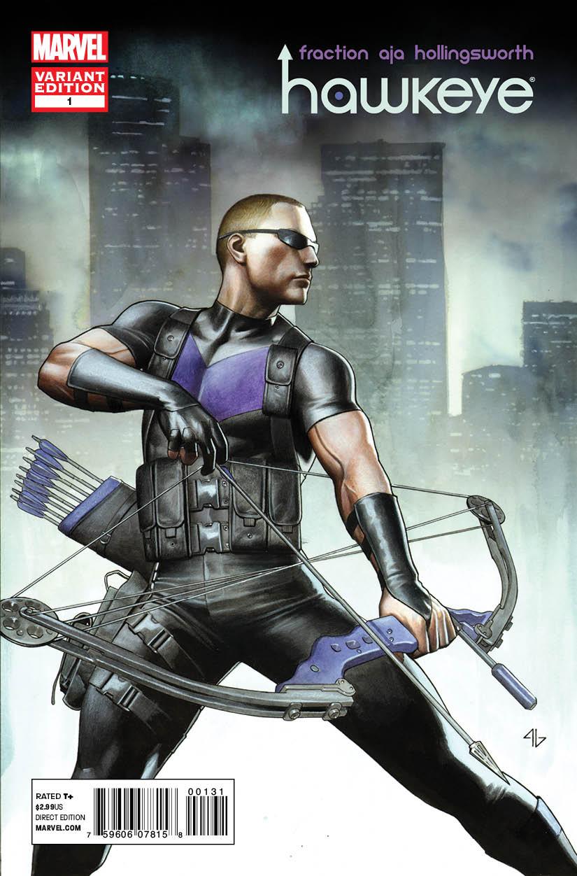 Hawkeye #1 Variant by Adi Granov