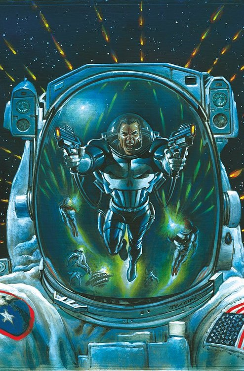 Frank Tieri and Space Punisher