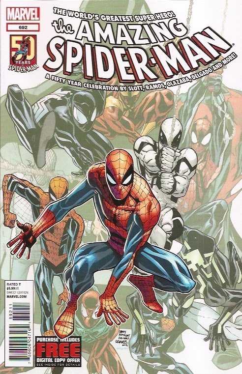 I'm giving away my Amazing Spider-Man free comic codes
