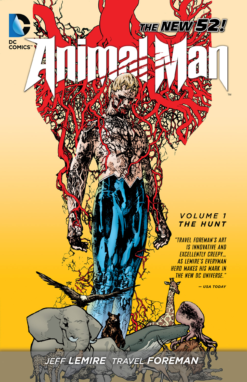 ANIMAL MAN Vol. 1 The Hunt