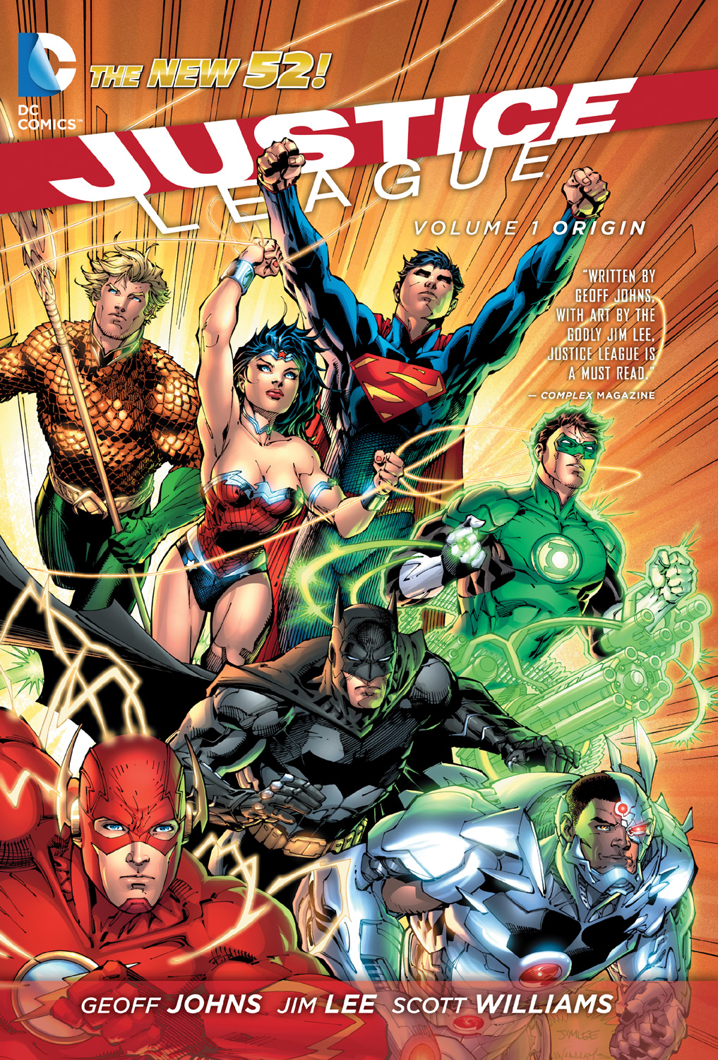 JUSTICE LEAGUE Vol. 1 Origin