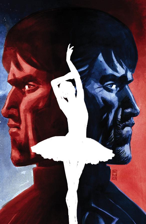 Dancer trade paperback cover
