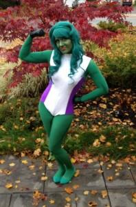 She-Hulk Cosplay Halloween