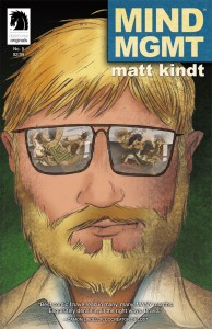 MIND MGMT #5 cover