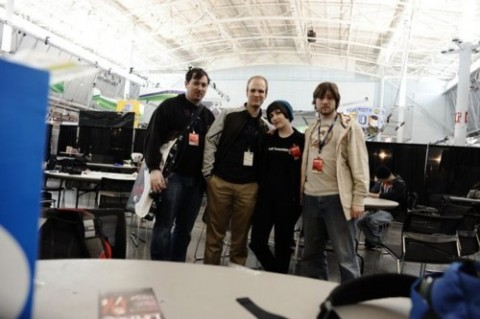 My D&D group the The Shadow Dragon Survivalists at PAX 2011