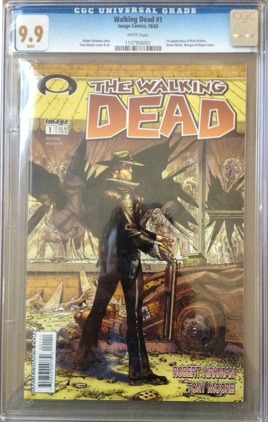 Two Copies of Walking Dead #1 Equals $19,900