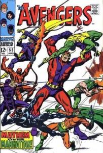 avengers 55 cover
