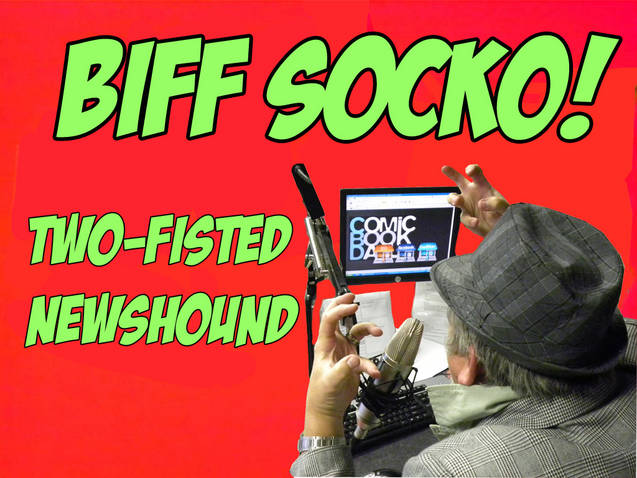 "BIFF SOCKO: "" STRAP ON THE OLD FEEDBAG"""