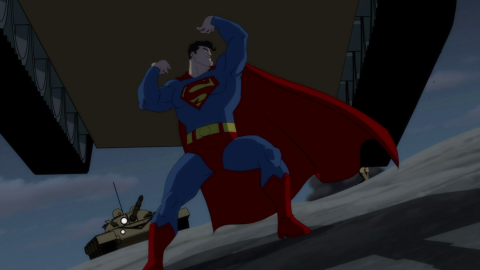 Batman The Dark Knight Returns Animated screenshot 5