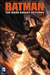 Batman The Dark Knight Returns Part 2 animated cover