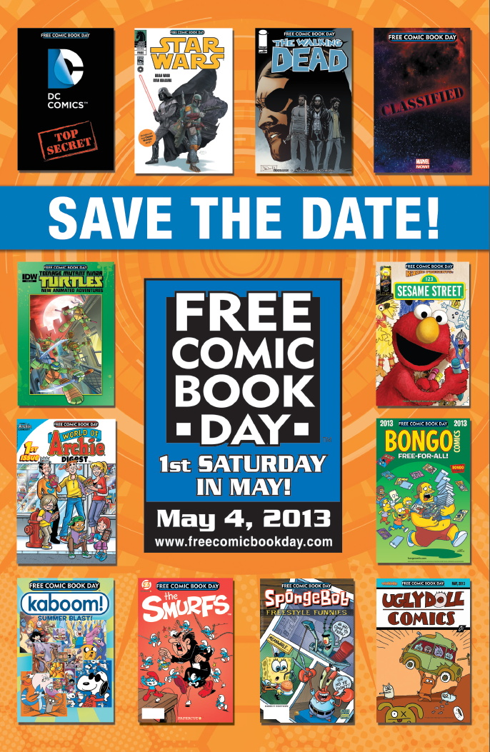 Over 4.6 Million comics ordered for FCBD 2013