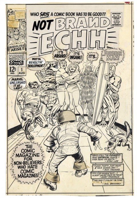 Not Brand Echh issue 1 by Jack Kirby and Frank Giacoia.  Source.