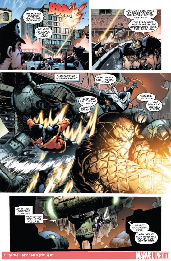 Superior Spider-man Interior