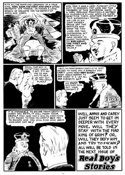 Atomic Man final page.
