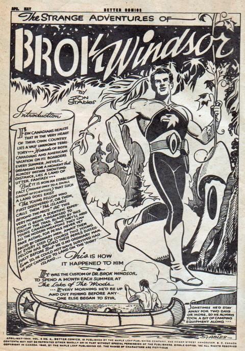 Better Comics Vol. 3 No. 3  , inside front cover