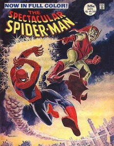 spectacular spiderman magazine 2