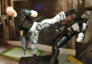 Chuck Norris custom figure by Ed Campbell