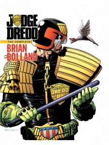 Judge Dredd The Complete Brian Bolland cover