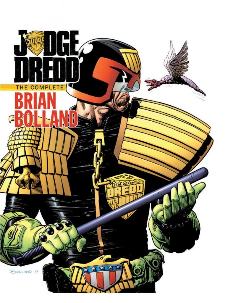 Review   Judge Dredd: The Complete Brian Bolland