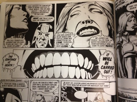 Judge Dredd The Complete Brian Bolland interior 1