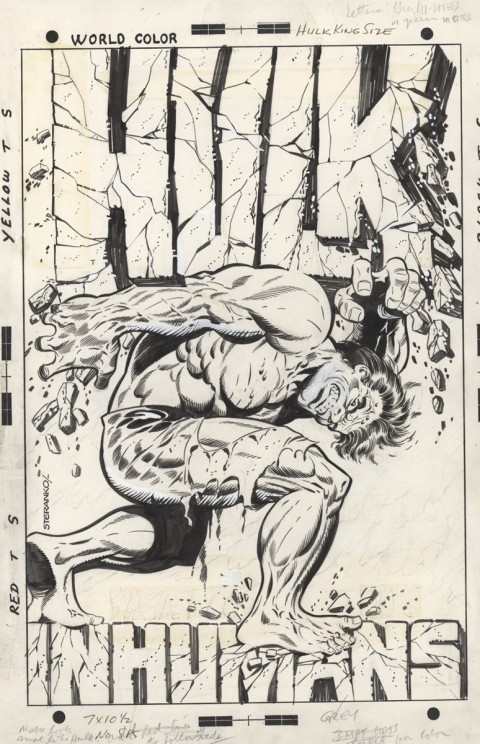 King Size Hulk cover by Jim Steranko.  Source.