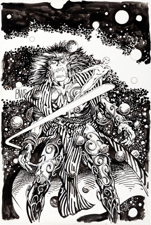 Rune/Silver Surfer issue 1 cover by Barry Windsor-Smith