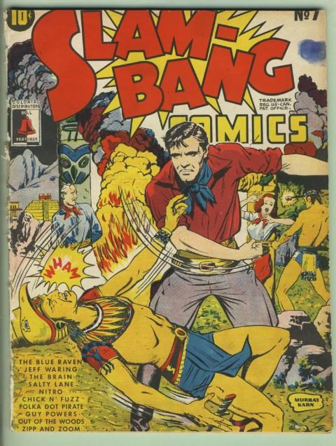 Slam Bang Comics No. 7 cover