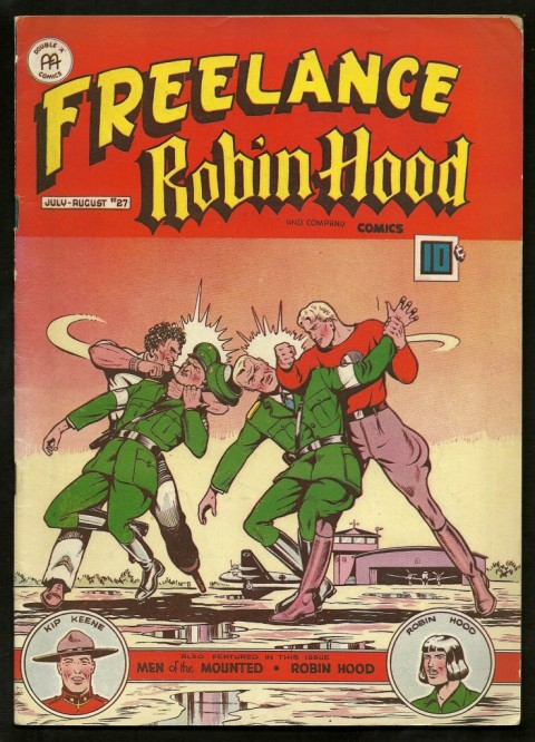 Cover for Freelance-Robin Hood 27