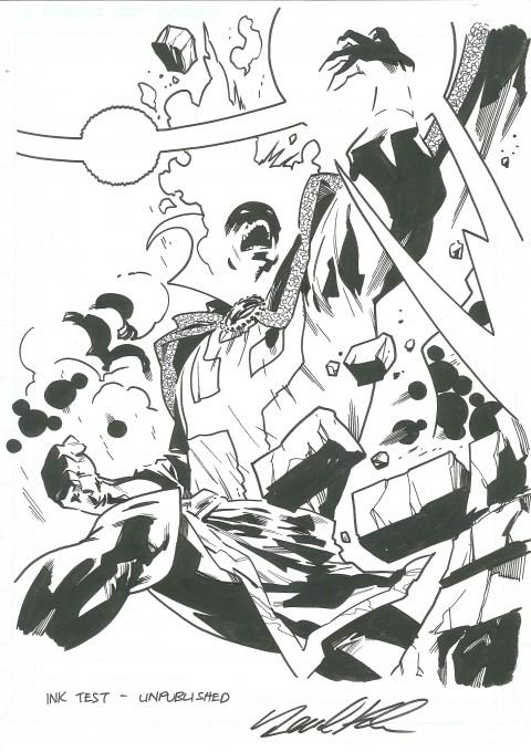 2012 Sketch Dormannu As Doctor Strange by Leonard Kirk