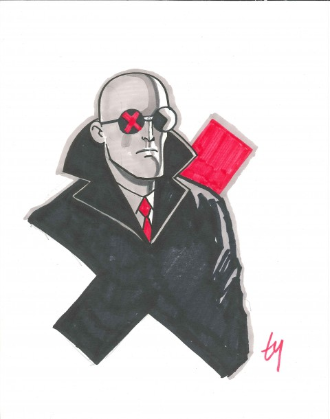 2013 Sketch Mister X by Ty Templeton