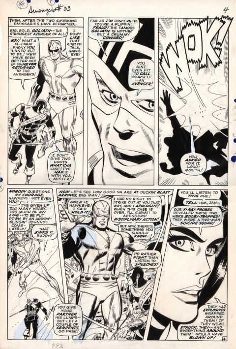 Avengers issue 33 page 4 by Don Heck