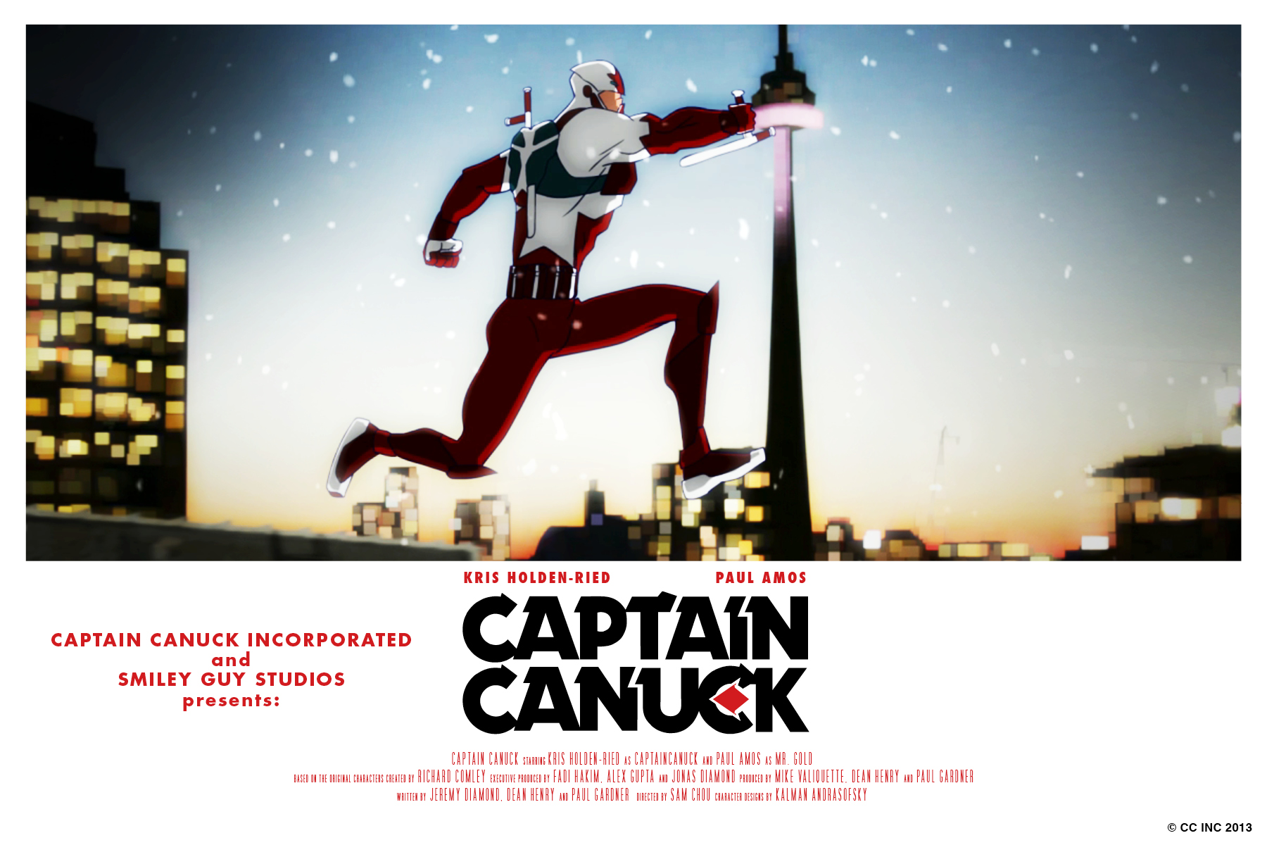 Captain Canuck Updates