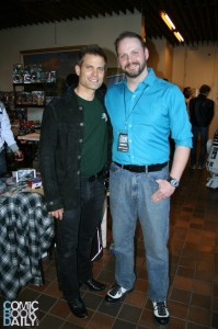 Casper Van Dien and Ed Campbell