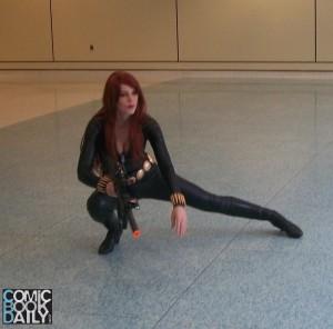 Gilly_Kins Black Widow Toronto ComiCon