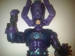 My Galactus figure that I am going to do a custom paint job on to look like the classic comic design.