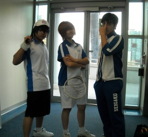 Seigaku Academy tennis team - Prince of Tennis