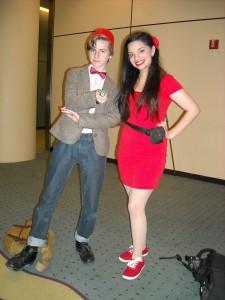 Doctor Who and Clara Oswin Oswald