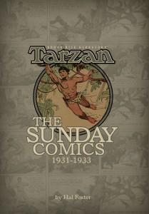 Tarzan The Sunday Comics 1931-1933 cover