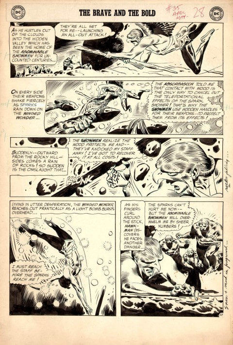 The Brave And The Bold issue 35 page 10 by Joe Kubert