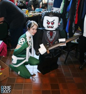 Toronto Rogue with Lego Dracula