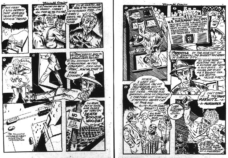 Triumph Comics 18 - out of order pages 50-51
