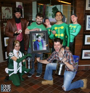 The winner of the limited edition print with X-Men of Toronto