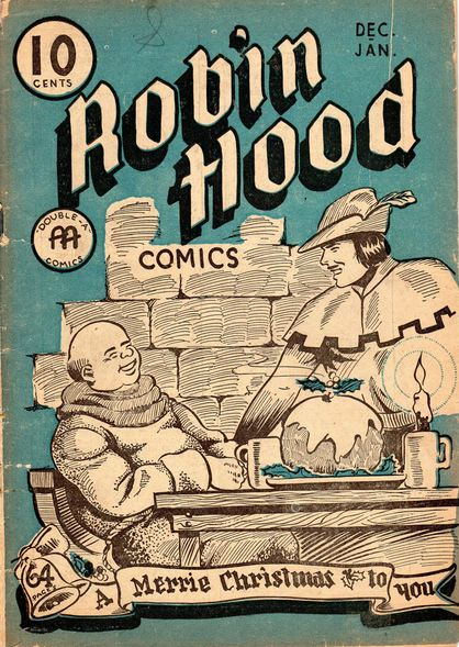Robin Hood Comics No. 6