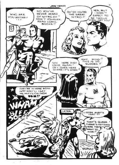 Joke Comics 17, p. 55 - The Encounter