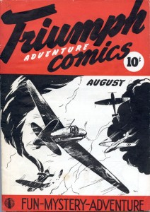 Adrian Dingle's Triumph-Adventure Comics No. 1