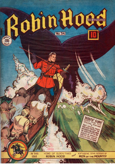 Robin Hood Comics No. 34