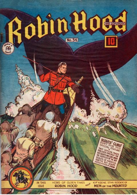 Robin Hood Comics No. 34