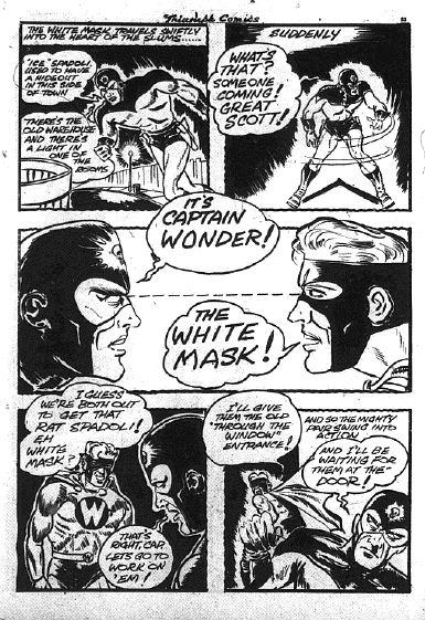 Triumph Comics 18, p. 53 - The Encounter