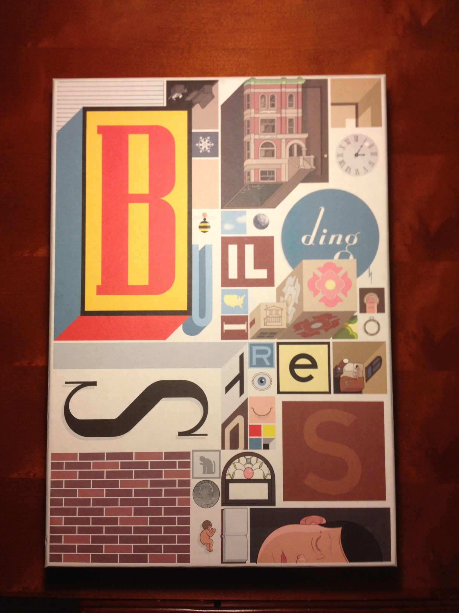 """Cover of """"Building Stories"""""""